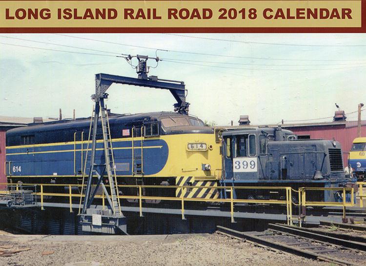 2018 LIRR Calendar